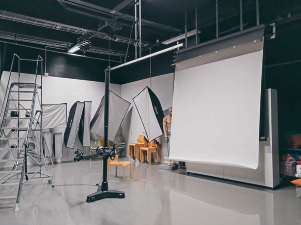 Photography studio, one of Helsinki XR Center's special facilities to XR development