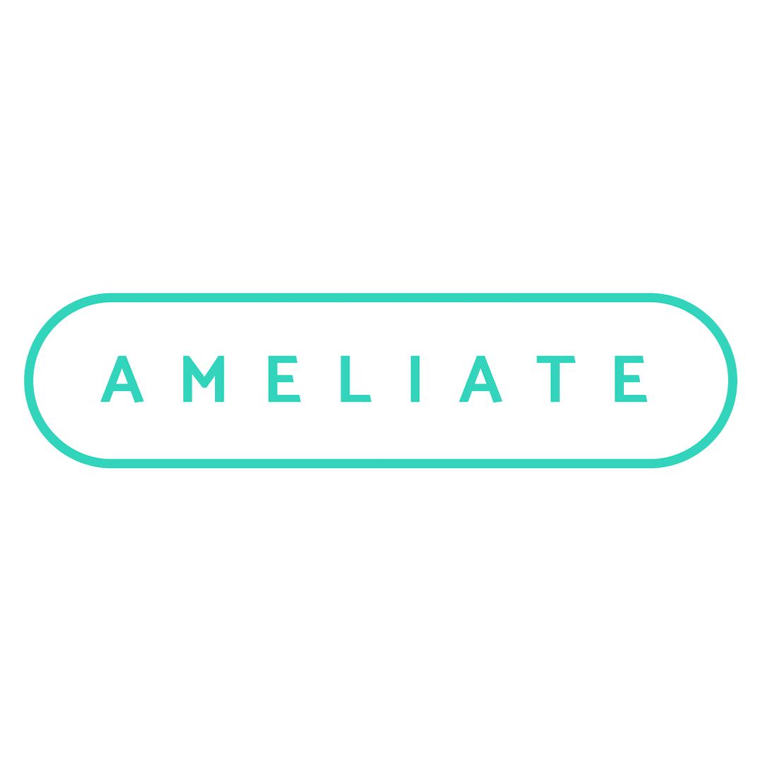 Ameliate logo, HXRC Hub team