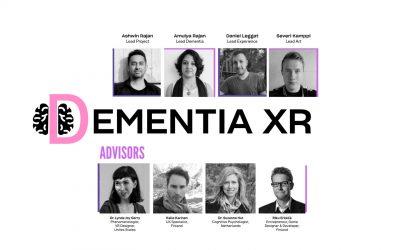 Introducing XR Hub team: Dementia XR