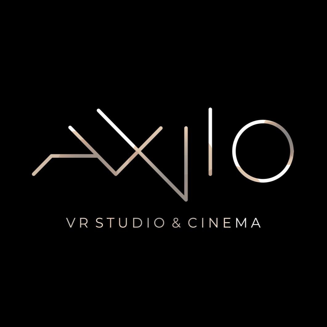AXiiO VR Studio logo, XR Hub team