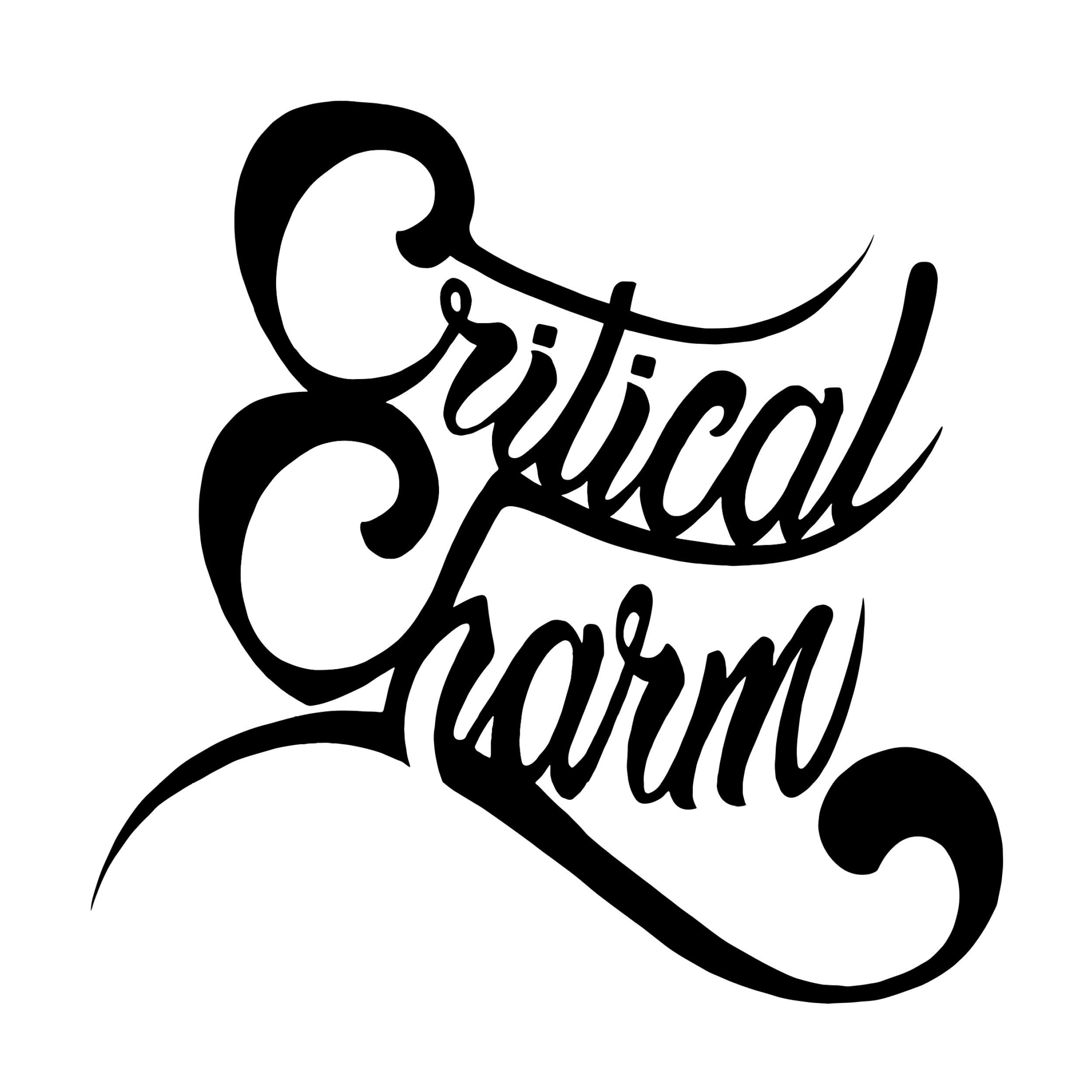 Critical Charm logo, HXRC Hub team