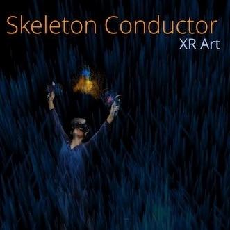 Skeleton Conductor logo, HXRC Hub team