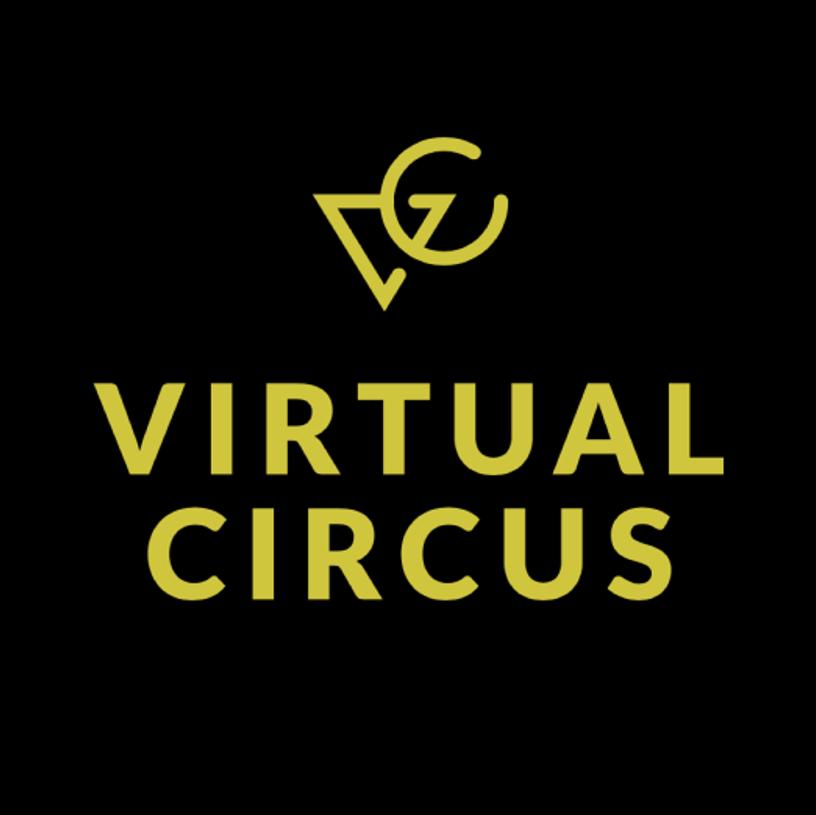 Virtual Circus logo, HXRC Hub team