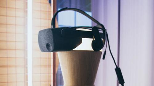 VR Pavilion Finland virtual venue shot from a distance