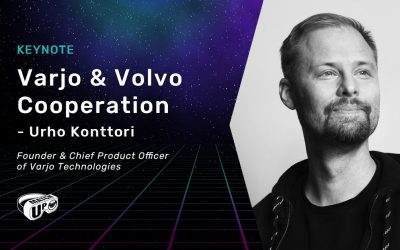 Another Match Up 2019 Keynote Speaker revealed: Urho Konttori from Varjo