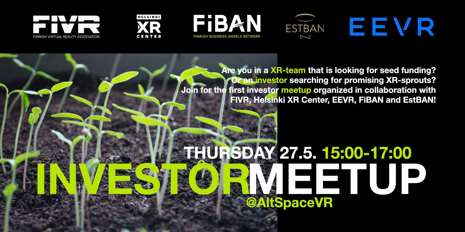 FIVR Investor Meetup on the 27th of May 2021.