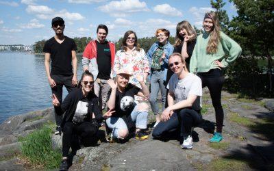 Happy Midsummer from the Helsinki XR Center team!