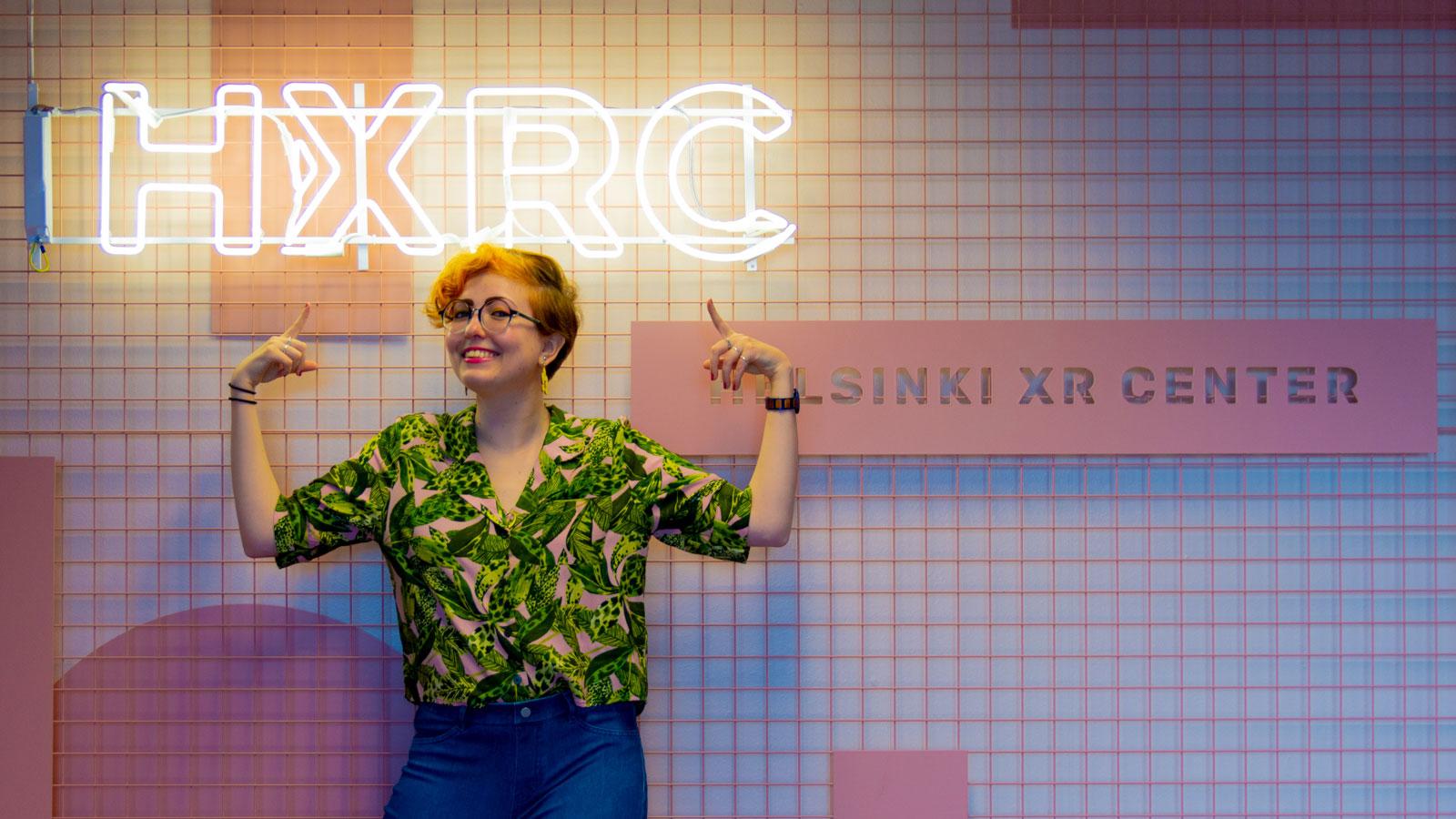 Kira Vesikko, HXRC's Communications Specialist.
